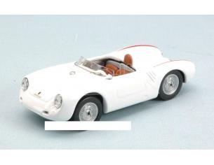 Best Model BT9577 PORSCHE 550 RS 4 CIL.110 CV 1957 WHITE 1:43 Modellino