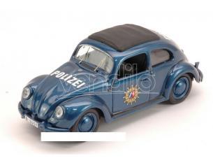 Rio RI4464 VW BEETLE POLIZEI 1956 1:43 Modellino