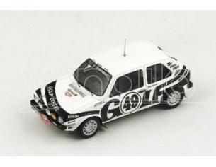 Spark Model S3211 VW GOLF DIESEL N.49 ACCIDENT MONTE CARLO 1978 J.KLEINT-A.HANSCH 1:43 Modellino