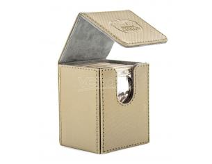Ultimate Guard Flip Deck Case 100+ Standard Size XenoSkin Sand Ultimate Guard