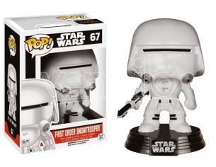 Funko Star Wars Episodio VII POP Movies Vinile Figura First Order Snowtrooper 10 cm