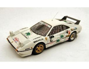 Best Model BT9303 FERRARI 308 GTB N.2 RETIRED RALLY MONZA 1983 TOIVONEN-PIIRONEN 1:43 Modellino
