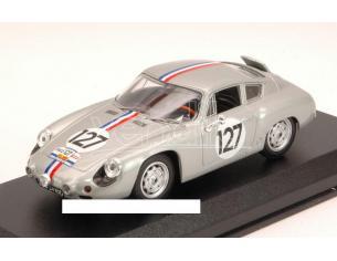 Best Model BT9580 PORSCHE ABARTH N.127 TOUR DE FRANCE 1961 BOUCHET-AURY 1:43 Modellino