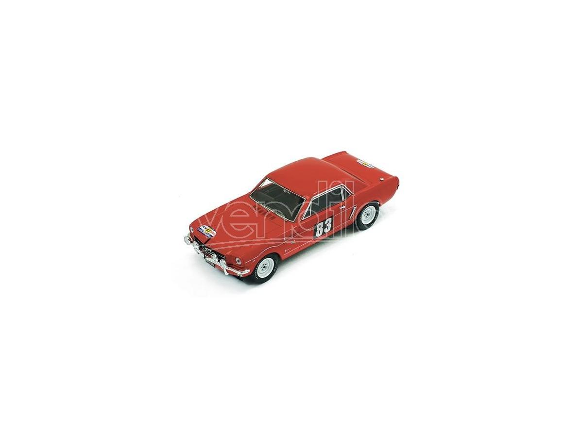 PremiumX PRD310 FORD MUSTANG N.83 8th (1st CLASS) TOUR DE FRANCE 1964 PROCTER-COWAN 1:43 Modellino