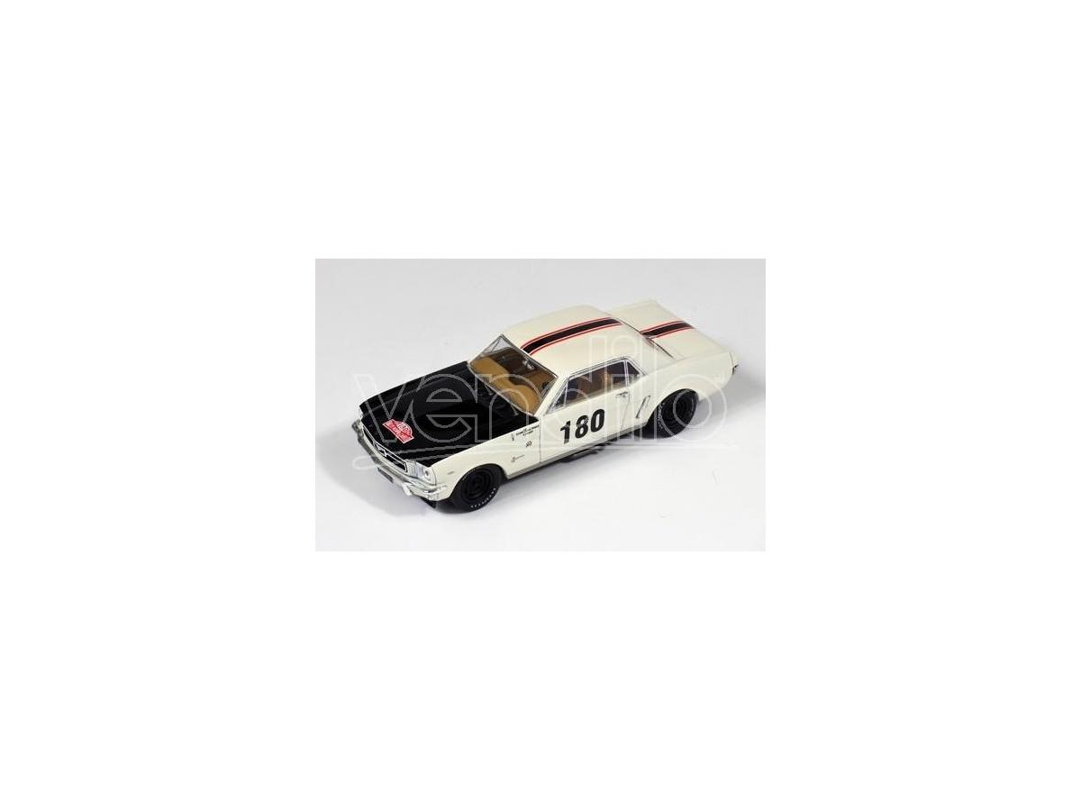 PremiumX PRD313 FORD MUSTANG N.180 DNF R.AUTOM.MONTE CARLO 1965 GEMINIANI-ANQUETIL 1:43 Modellino