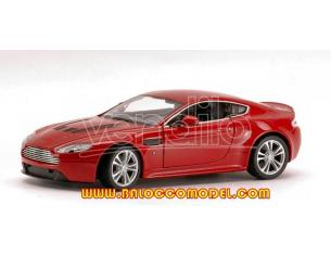 Welly WE4129 ASTON MARTIN V12 VANTAGE 2010 RED 1:24 Modellino