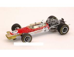 Quartzo QZ27806 LOTUS 49B R.ATTWOOD 1969 N.2 4th MONACO GP 1:43 Modellino