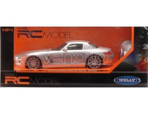 Welly WE84002 MERCEDES SLS AMG RADIOCOMANDO 1:24 Modellino