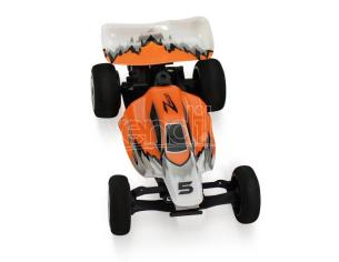 Mini Super Speed Z301 Racing Buggy Kart Rechargeable Arancione 1/32 Radicomando