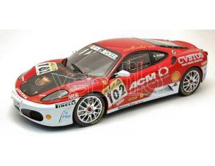 Hot Wheels L7113 FERRARI F 430 CHALLENGE N.102 EUROPE CHAMPION 2006 ANGE BARDE 1:18 Modellino
