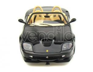 Hot Wheels HWN2055 FERRARI 550 BARCHETTA PININFARINA 2000 BLACK 1:18 Modellino