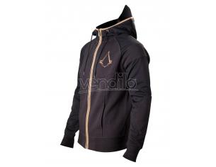 Assassin's Creed Syndicate Felpa Zipper Hoodie Bronze Logo Size XL Bioworld