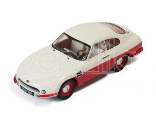 Ixo model CLC264 PANHARD DB HBR5 1957 BEIGE AND RED CLOSED LIGHTS 1:43 Modellino