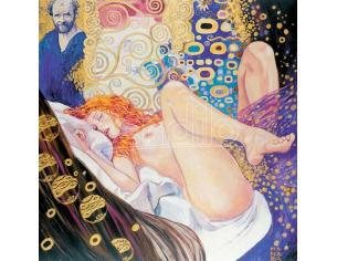 COMIXANDO MANARA ART ON CANVAS KLIMT GIFT BOX STAMPA SU TELA