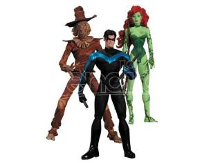 DC DIRECT HUSH SCARECROW NIGHTWING POIS.IVY AF 3PK ACTION FIGURE