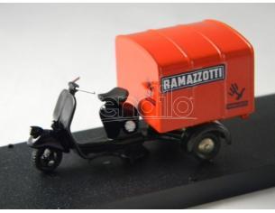 Scottoy 16 Ape Piaggio 125 Cabinato Decorato Ramazzotti 1:30 Modellino
