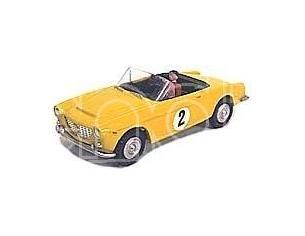 Scottoy 23SC Fiat 1500 Spider Corsa colore giallo 8 cm Modellino