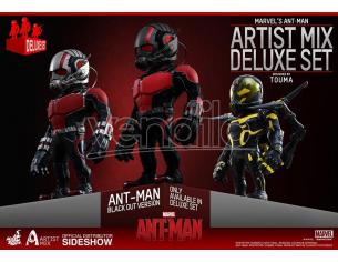 HOT TOYS ANT-MAN ARTIST MIX DELUXE SET FIG COLL FIGURA