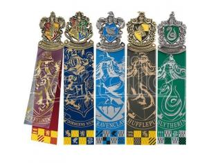 Set di 5 Segnalibri con tutte le Casate di Hogwarts Harry Potter Noble Collection