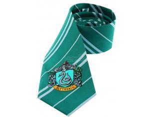 Cravatta Serpeverde Harry Potter Tie Slytherin Crest Cinereplicas