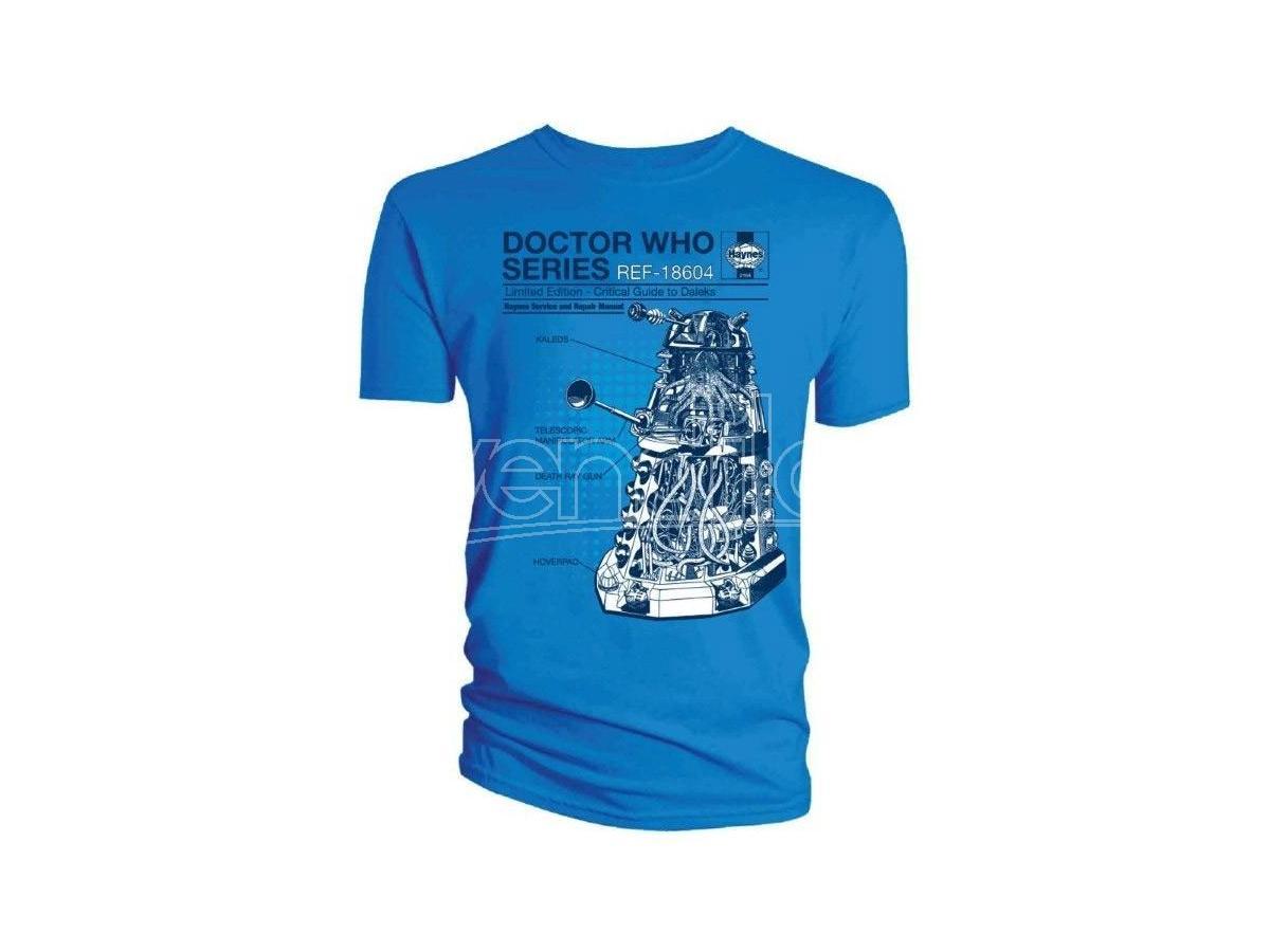 Doctor Who Maglietta Maglia T Shirt Critical Dalek Size S
