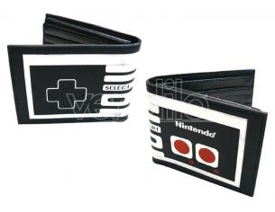 Nintendo Portafoglio Wallet Bifold Controller Bioworld