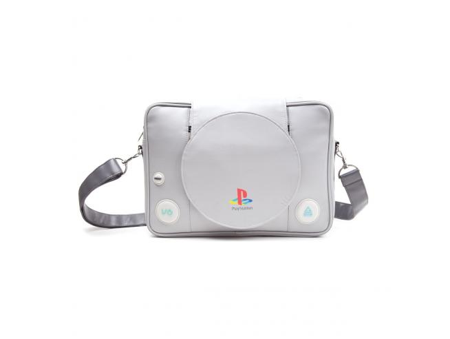 Sony PlayStation One PS1 Borsa tracolla Messenger Bag 35x30cm Bioworld