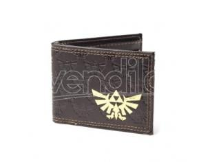 The Legend of Zelda Portafoglio Wallet Gold Foil Logo Bioworld