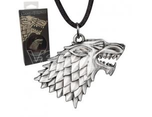 Ciondolo Stark Shield Game of Thrones Trono di Spade Noble Collection