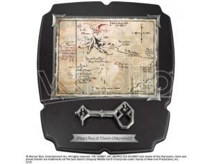 Lo Hobbit Chiave e Mappa di Thorin Il Signore Degli Anelli Deluxe Noble Collection