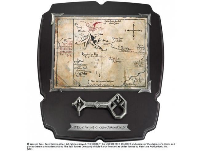 Chiave e Mappa di Thorin Deluxe Il Signore Degli Anelli Noble Collection