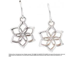 The Hobbit An Unexpected Journey Earrings Galadriel´s Flower (Sterling Silver) Noble Collection