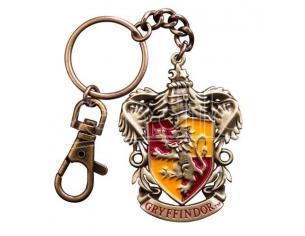 Portachiavi Grifondoro Harry Potter Metal Keychain Gryffindor 5 cm Noble Collection