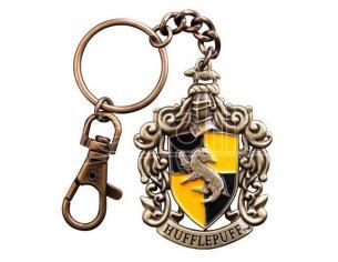 Portachiavi Tassorosso Harry Potter Metal Keychain Hufflepuff 5 cm Noble Collection