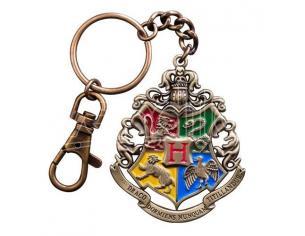 Harry Potter Metal Portachiavi Keychain Hogwarts 5 cm Noble Collection