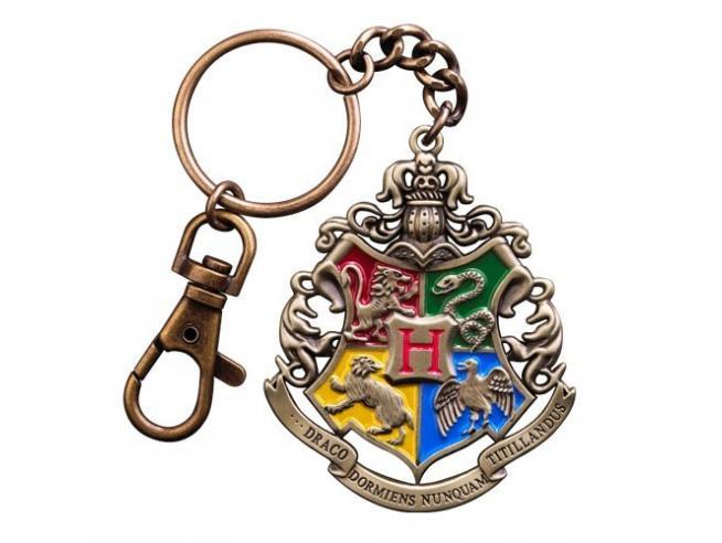 Portachiavi con Stemma Hogwarts Harry Potter Noble Collection