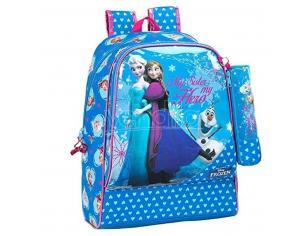 Zaino Zainetto scuola piscina palestra Frozen Backpack 33 cm Safta 33X42X14 cm