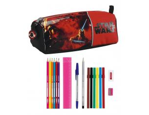 Astuccio portapenne  scuola Star Wars 17 Piece pencil case Darth Fener Vader 21 cm Safta