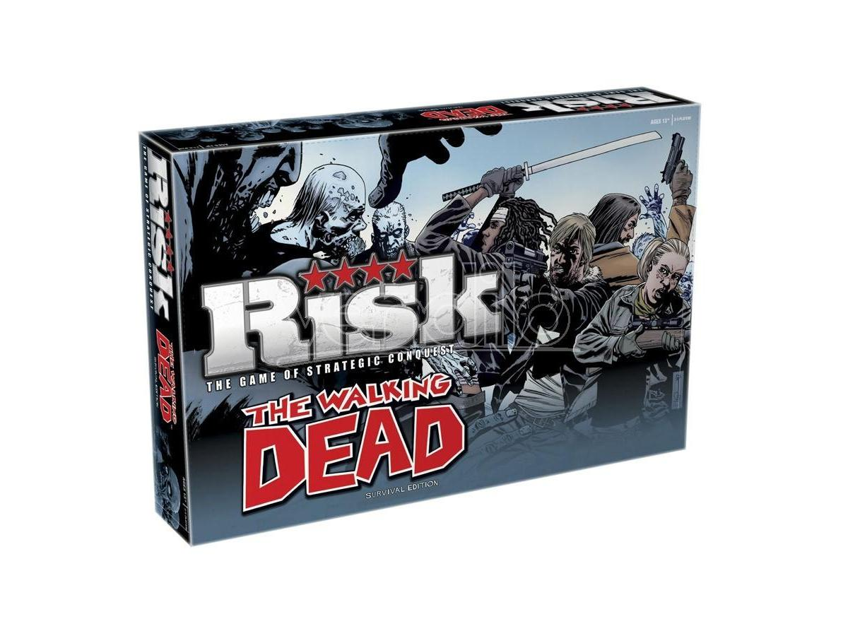 Gioco da Tavolo Risk The Walking Dead versione Inglese Winning Moves