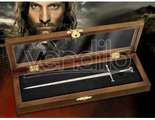 Tagliacarte Spada di Anduril Signore degli Anelli Noble Collection