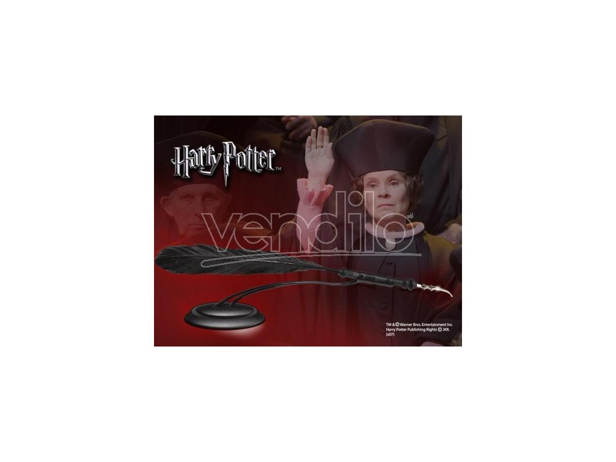 Harry Potter Penna Con Piedistallo Dolores Umbridge Noble Collection