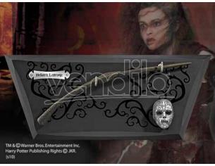 Bacchetta Magica Bellatrix Lestrange con Espositore Harry Potter Noble Collection
