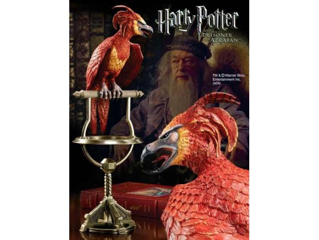 Statua Fanny Fenice di Silente Harry Potter Noble Collection