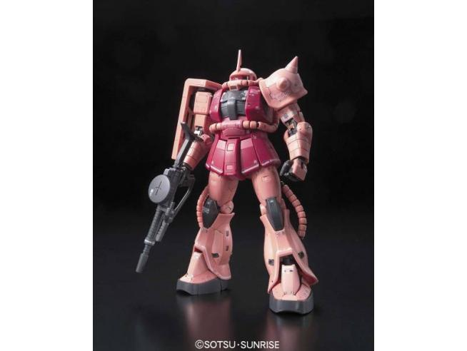 BANDAI MODEL KIT RG ZAKU MS-06S 1/144 MODEL KIT