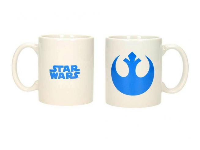 SD TOYS SW REBELS LOGO WHITE MUG TAZZA