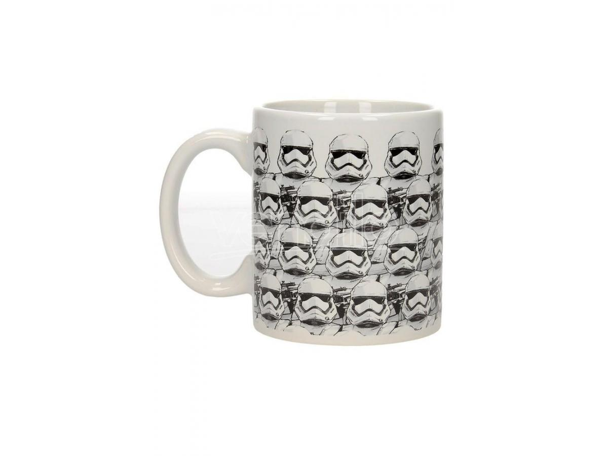 SD TOYS SW EP7 STORMTROOPERS PATTERN WHITE MUG TAZZA