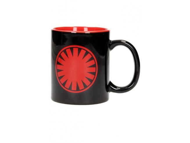 SD TOYS SW EP7 FIRST ORDER SYMBOL BLACK/RED MUG TAZZA