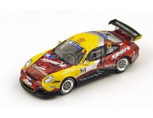 Spark Model SB104 PORSCHE 911 GT3  N.25 RETIRED YPRES RALLY 2015 R.DUMAS-D.GIRAUDET 1:43 Modellino
