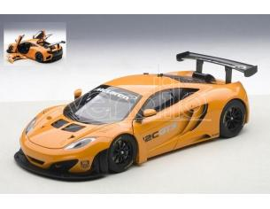 Auto Art / Gateway AA81340 MC LAREN 12C GT3 PRESENTATION CAR ARANCIO 1:18 Modellino