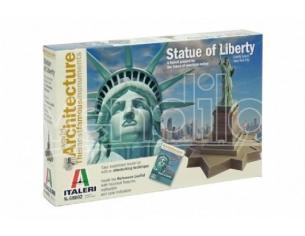 Italeri It68002 The Statua Of Liberty Kit Cm 15x17 Modellino